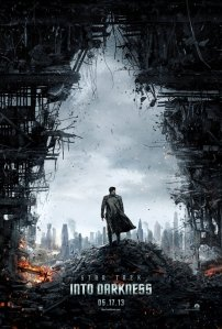 Star Trek poster into darkness