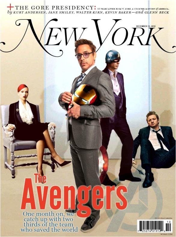 avengers magazine 1