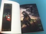 Soner Canözer'in Albatros Süvarisi kitabının ilk bölümünün resmi ve kitap ayracı