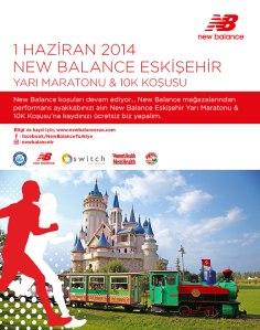 New Balance Eskişehir 2014 afiş